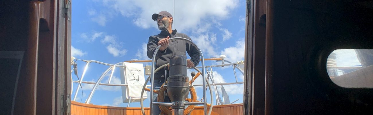 First sail, damn winches, and lost a crew