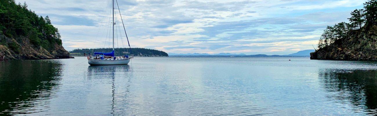 Gunkholing Inati Bay