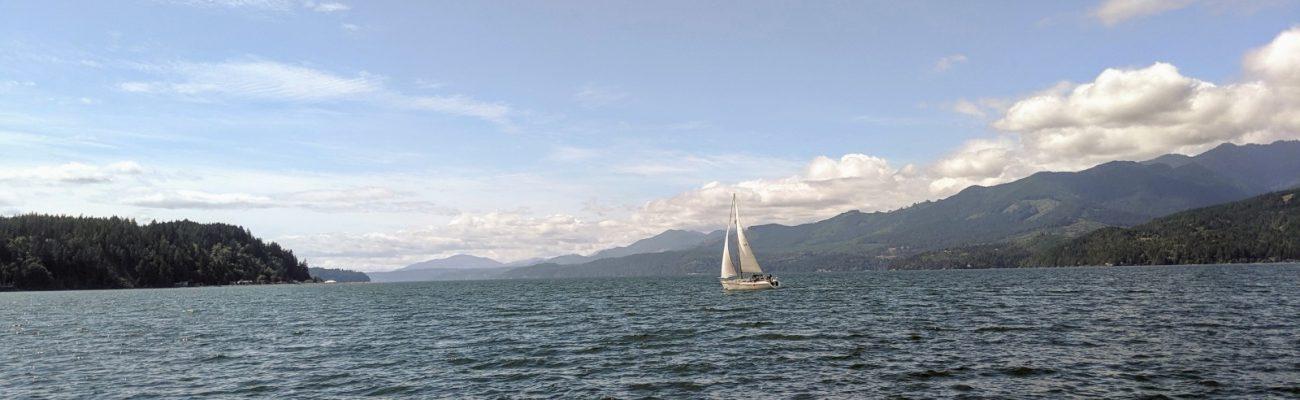 The long, long, sail